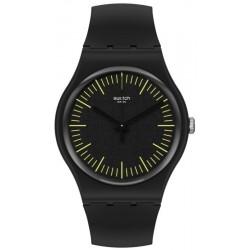 Reloj Unisex Swatch New Gent Blacknyellow SUOB184