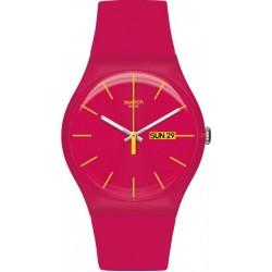 Reloj Mujer Swatch New Gent Rubine Rebel SUOR704