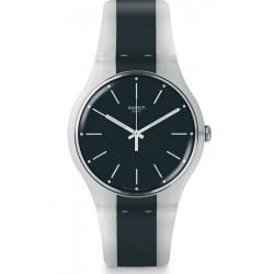 Reloj Unisex Swatch New Gent Greyline SUOW142