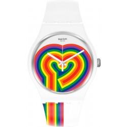 Reloj Mujer Swatch New Gent Beating Love SUOW171