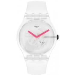 Reloj Unisex Swatch New Gent Snow Blur SUOW172
