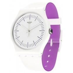 Reloj Mujer Swatch New Gent Whitenpurple SUOW173
