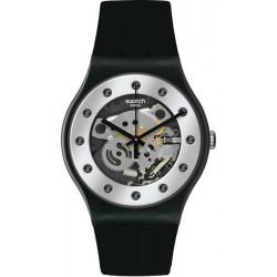 Reloj Unisex Swatch New Gent Silver Glam SUOZ147