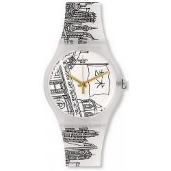 Reloj Unisex Swatch New Gent Art Peace Hotel SUOZ197