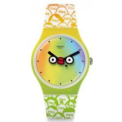 Comprar Reloj Unisex Swatch Club New Gent What's Yo Face? SUOZ303