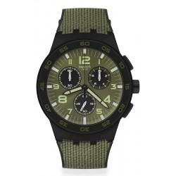 Comprar Reloj Hombre Swatch Chrono Plastic Dark Forest SUSB105