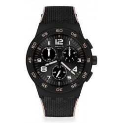 Comprar Reloj Hombre Swatch Chrono Plastic Black Cord SUSB106