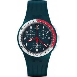 Reloj Hombre Swatch Chrono Plastic El Comandante SUSN405 Cronógrafo