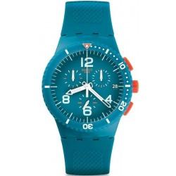 Comprar Reloj Unisex Swatch Chrono Plastic Patmos SUSN406 Cronógrafo