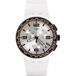 Comprar Reloj Unisex Swatch Chrono Plastic White Blades SUSW405 Cronógrafo