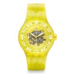 Reloj Unisex Swatch Scuba Libre Lemon Profond SUUJ101