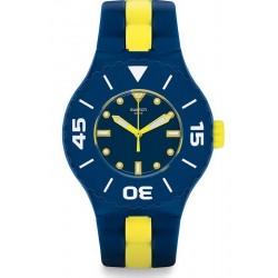 Reloj Hombre Swatch Scuba Libre Long Waves SUUN102