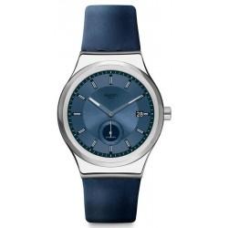 Comprar Reloj Unisex Swatch Irony Sistem51 Petite Seconde Blue SY23S403 Automático