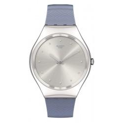 Reloj Mujer Swatch Skin Irony Blue Moire SYXS134