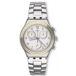 Reloj Unisex Swatch Irony Chrono Silvernow YCS586G Cronógrafo