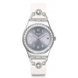 Reloj Mujer Swatch Irony Medium Pretty In White YLS463