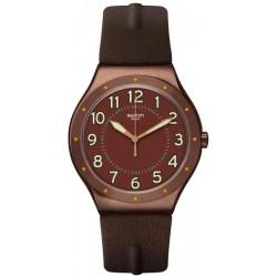 Comprar Reloj Hombre Swatch Irony Big Classic Copper Time YWC100