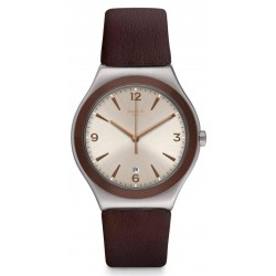 Reloj Hombre Swatch Irony Big Classic O'Choco YWS450