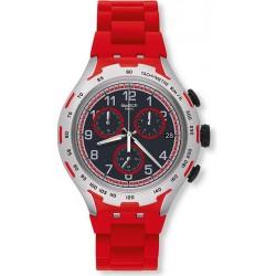 Reloj Hombre Swatch Irony Xlite Red Attack YYS4018AG Cronógrafo
