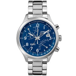 Reloj Hombre Timex Intelligent Quartz T Series Fly Back Chronograph  TW2P60600 17d69483e924