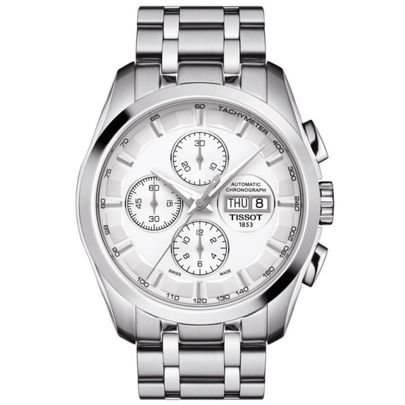 ad18bfe552ac Reloj Tissot Hombre Couturier Automatic Chronograph T0356141103100 ...