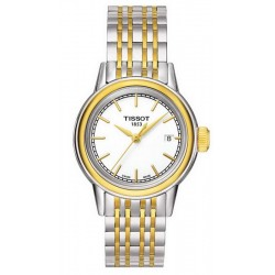 Comprar Reloj Tissot Mujer T-Classic Carson Quartz T0852102201100