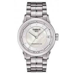 Comprar Reloj Tissot Mujer Luxury Powermatic 80 T0862071111100 Madreperla