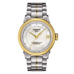 Comprar Reloj Tissot Mujer Luxury Powermatic 80 COSC T0862082211600 Diamantes