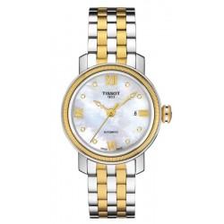 Comprar Reloj Tissot Mujer Bridgeport Automatic T0970072211600 Diamantes