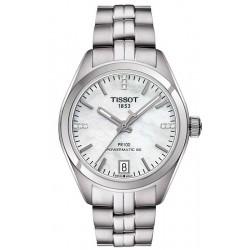 Comprar Reloj Tissot Mujer PR 100 Powermatic 80 T1012071111600 Diamantes